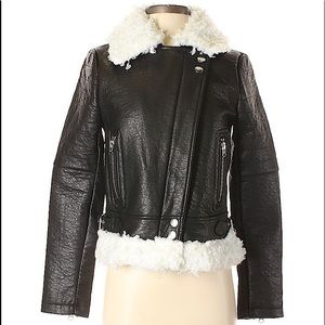 Nasty Gal Inc. Size S faux Leather Jacket